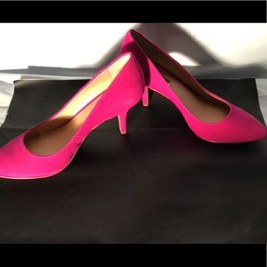 Deep fuchsia heels
